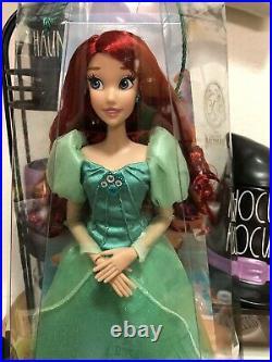 Disney Parks Diamond Castle Collection Limited Edition Ariel Little Mermaid Doll
