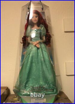 Disney Parks Diamond Collection Ariel Little Mermaid Doll 30th Anniversary