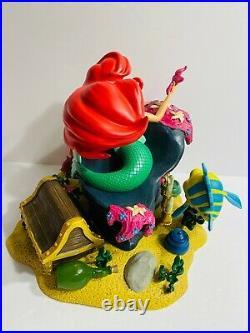 Disney Parks Little Mermaid Ariel & Friends Figurine Statue Medium Big Fig New