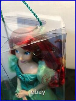 Disney Parks The Little Mermaid Ariel's Celebration Doll 16 Limited Edition