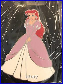 Disney Pin Set WDI MOG Ariel Little Mermaid Dress Series Pin LE 250