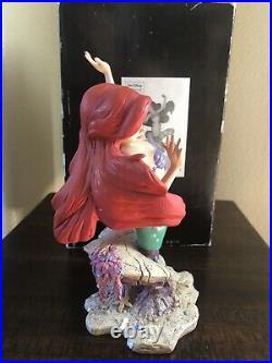 Disney Showcase Ariel Grand Jester The Little Mermaid Figure #1142 of #3000