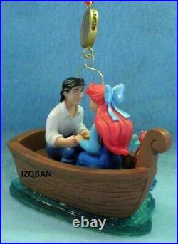 Disney Sketchbook Little Mermaid 30th Anniversary Legacy Ornament 2019 New N Box