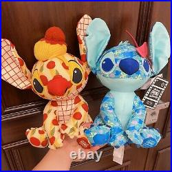 Disney Store 2021 Stitch Crashes Plush set Ariel the little mermaid lady tramp