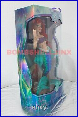 Disney Store 30th Anniversary Little Mermaid Ariel 17 Doll Limited Edition NEW