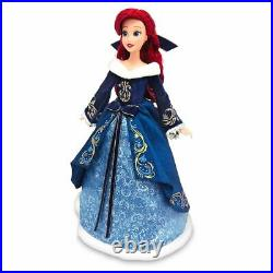 Disney Store Ariel Doll 11 The Little Mermaid 2020 Holiday Special Edition