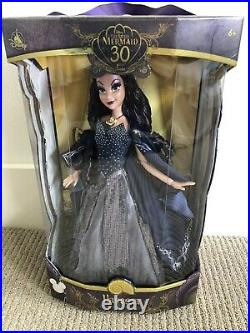 Disney Store D23 Vanessa Ursula 17 LE Limited Edition Doll The Little Mermaid