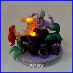 Disney Store Japan 2021 Ariel Ursula LED light Figure The Little Mermaid New