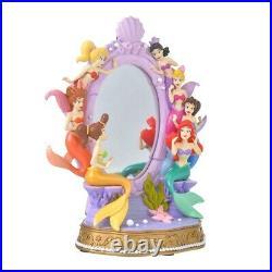 Disney Store Japan Little Mermaid Ariel Sisters Figure Stand Mirror Story Collec