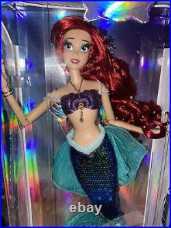 Disney Store Limited Edition 17 Little Mermaid Ariel Doll BNIB 30th Anniversary