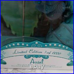 Disney Store Limited Edition Ariel 17 Doll Little Mermaid