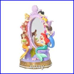 Disney Store Limited Little Mermaid Stand Mirror Ariel Sisters Figure Collection