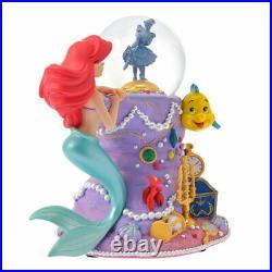 Disney Store Little Mermaid 30th Ariel Snow globe Snow dome Figure Flander Sell