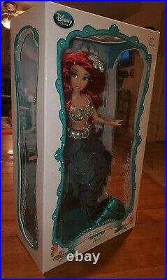 Disney Store Little Mermaid Ariel Limited Edition Doll 17 Brand New LE 6000 HTF