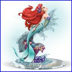 Disney THE LITTLE MERMAID ARIEL Beauty Under The Sea Figurine NEW