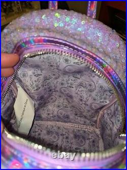 Disney The Little Mermaid Ariel Sequin Mini Backpack Loungefly LIMITED EDITION
