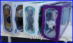 Disney The Little Mermaid, Ariel, Ursula, Prince Dolls, Limited Edition, Bnib