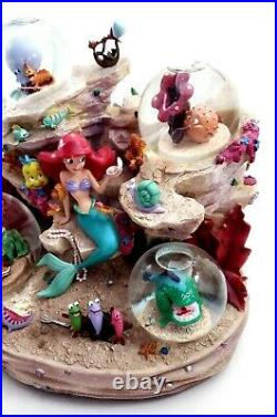 Disney The Little Mermaid Under The Sea Collectors Large Musical Snowglobe