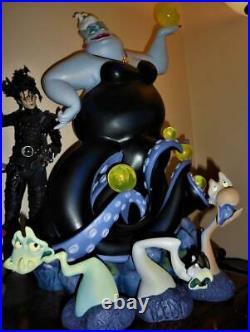 Disney URSULA Little Mermaid Big Figure figurines statue LIGHTS UP - 27 INCHES