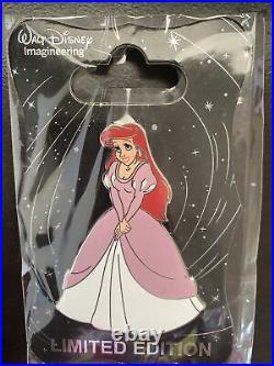 Disney WDI Ariel Pink Dress LE 250 Pin Little Mermaid 30th Anniversary Gowns