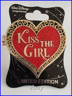 Disney Wdi Little Mermaid Kiss The Girl Valintine's Day Cast Excl Le Pin
