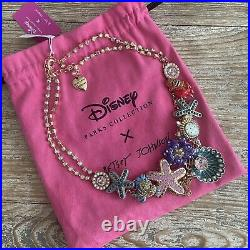 Disney X Betsey Johnson Parks Collection The Little Mermaid Necklace