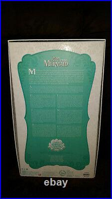 Disney's Ariel Little Mermaid 17 Limited Edition Doll #4782/6000 MINT, Free ship