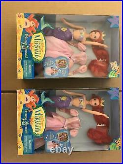 Disney's The Little Mermaid Princess Mermaid Ariel Doll by Mattel (1997) NIB