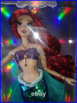 Disney store 30th Anniversary The Little Mermaid Ariel 17 Doll Limited Edition
