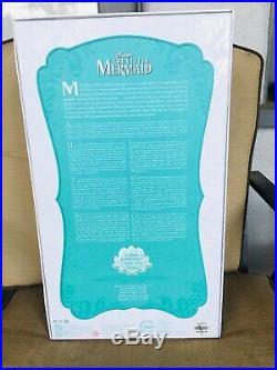 Disney the Little Mermaid Princess Ariel Limited Edition 17 LE Doll Read