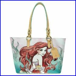 Dooney & Bourke Disney The Little Mermaid Ariel Tote Bag Purse Rare