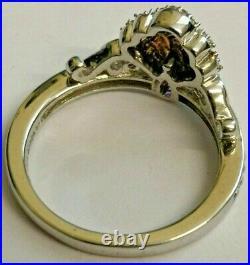 Enchanted Disney Fine Jewellery Amethyst & Diamond Ariel Ring Little Mermaid