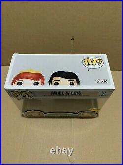 Funko Pop Disney The Little Mermaid Ariel & Eric 2 Pack IN STOCK