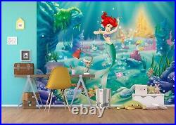 Girls room giant Wall Mural photo wallpaper 360x270cm Ariel The Little Mermaid