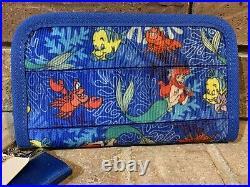 HARVEYS Seatbelt Disney Ariel little Mermaid Crossbody LARGE Tote & Wallet NWT