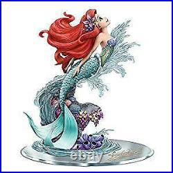 Hamilton Disney Little Mermaid Ariel Beauty Under The Sea Hand-Painted Figurine