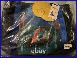 Harveys Little Mermaid ARIEL 30th Poster Tote Kiss The Girl Seatbelt Bag NWT