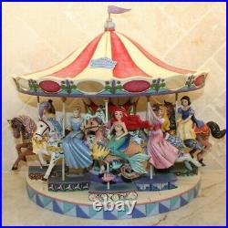 Jim Shore Disney Princess of Sea Ariel Little Mermaid Carousel Horse 4011742