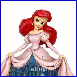 Jim Shore Disney Twilight Serenade Little Mermaid Ariel & Prince Eric