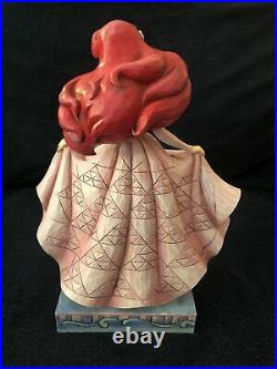 Jim Shore Disney Twilight Serenade Little Mermaid Ariel & Prince Eric NO BOX