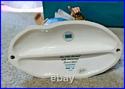 LE WDCC Ariel & King Triton Morning Daddy The Little Mermaid COA & Box Porcelain