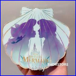 Limited 500 Disney Pin Princess ariel little mermaid 30th Shanghai Disneyland