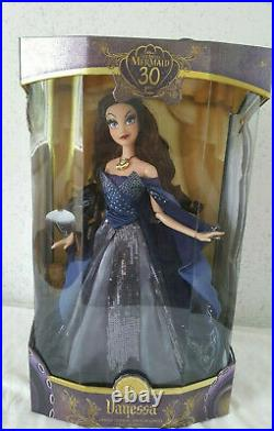 Limited Edition 17 VANESSA Doll the Little Mermaid Ariel Disney