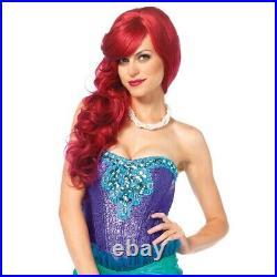 Little Mermaid Costume Adult Ariel Halloween Fancy Dress