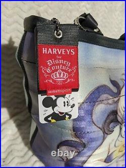 Little Mermaid Harveys Disney Couture Collection Ariel/Ursula seatbelt purse