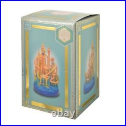 Little mermaid Castle Figure Disney Castle Collection Disney Store Japan Ariel