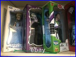 Lot Of Disney Limited Edition Dolls includes little mermaid set of 3
