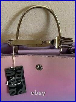 Loungefly Disney The Little Mermaid Ariel Handbag Dingle Hopper Fork Purse