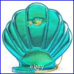 Loungefly Disney The Little Mermaid Ariel Teal Shell Shoulder Bag Cross Body