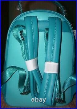 Loungefly Disney The Little Mermaid Ariel Triton & Sisters Mini Backpack Bag